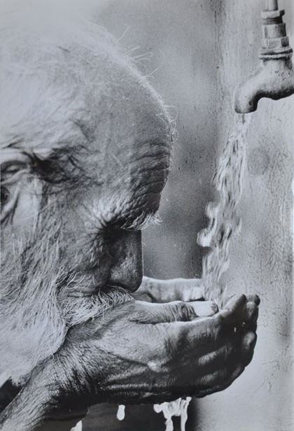 Margaret Bourke-White (1904-1971) - Old Man - 1940's/50's