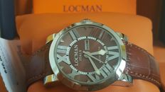 LOCMAN Toscano – Automatic – Model: Daydate – Steel – With box and guarantee