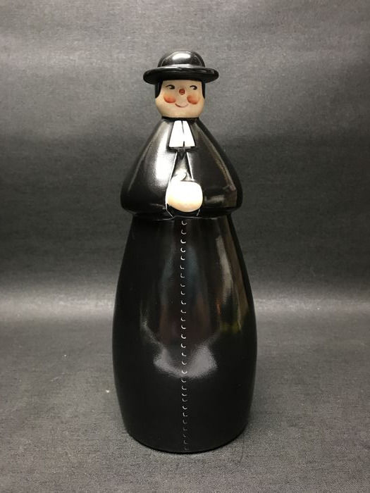 Robj Paris- 'Benedictine' - Art Deco Figural Porcelain Decanter