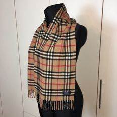 Burberry - 50% Cashmere 50% Lambswool Scarf