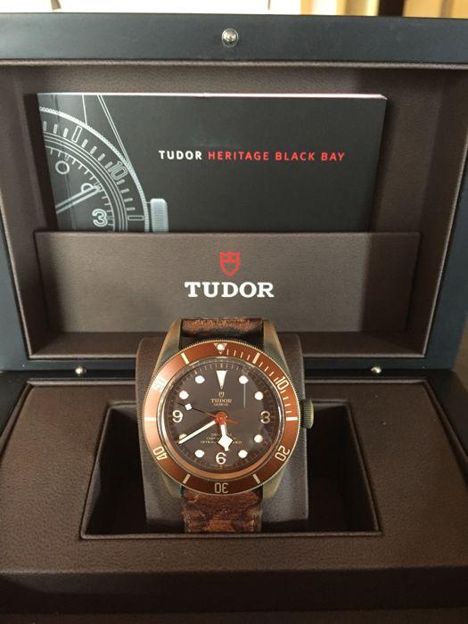 Tudor Heritage Black Bay Bronze - Men's - 2016