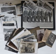 Over 100 photos & postcards, soldiers and officers of the German Wehrmacht / army!