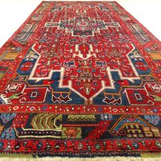 "Hamadan - 334 x 157 cm - ""wide Persian runner in beautiful condition"" - with certificate"