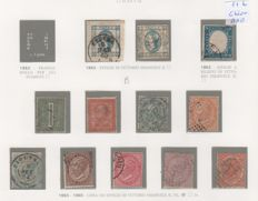 Kingdom of Italy / Lieutenancy 1863/1945 - Collection of stamps