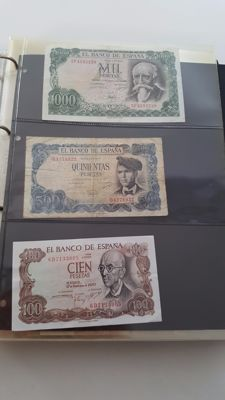World - Europe - Collection of banknotes, 147 in total in an album