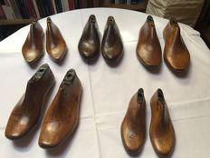 Shoe lasts in wood - 1st half of 20th century