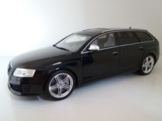 Otto Mobile - Scale 1/18 - Audi RS6 Avant 2008 - Black