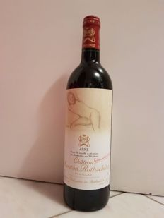 1993 Château Mouton Rothschild (Philippine de Rothschild) - Pauillac - 1 Bottle (75cl)