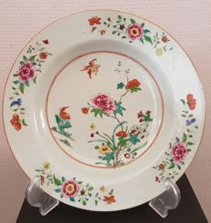 A porcelain 'Famille Rose' platter – China – 18th century