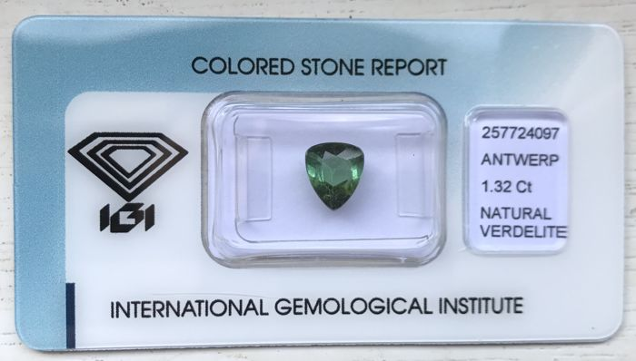 Tourmaline – 1.32 ct – No reserve price