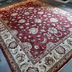Phenomenal XXL Ziegler Persian carpet - 360 x 275 - very good condition - with certificate