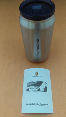 Porsche thermos flask Stainless steel - Porsche Driver's Selection