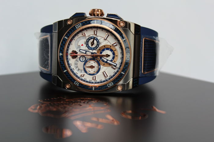 Savoy Swiss Made goudverguld limited edition heren horloge in nieuwestaat