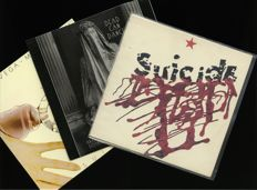Lot of three hard to find New Wave albums  including Alan Vega and Martin Rev's highly in demand 1978 debut release as Suicide