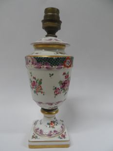 Porcelain Lamp base - Samson - 1900