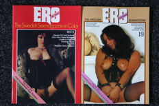 Pornography; Lot with 10 issues of Ero, The Kinkiest Swedish Sexmagazine in Color - 1974/1980