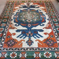 Fantastic Anatol Persian rug with Kazak pattern - 277 x 216 - Super appearance - Retail price EUR 2500 - unique opportunity