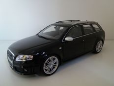 Otto Mobile - Scale 1/18 - Audi RS4 Avant 2012 - Black