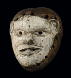 Nyau Spirit Mask - CHEWA - Zambia, Katete District