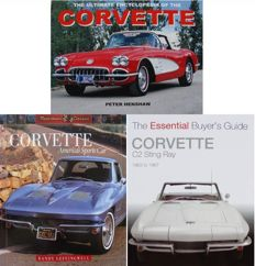 3 Books on Corvette