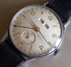 Swiss HOGA triple date - Men's watch - 1950–1959