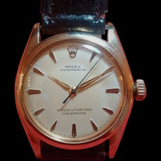 Rolex - Oyster Perpetual gold - Bubbleback - 中性 - 1950-1959