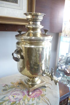 Very nice brass samovar Russia