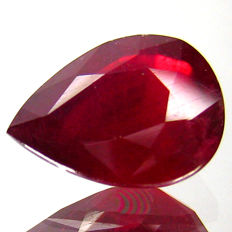 Ruby 3.66 Carat - No reserve price