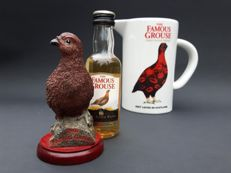 Three beautiful Famous Grouse, Finest Scotch Whisky items