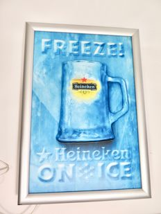 Light box Heineken Freeze - 1990s