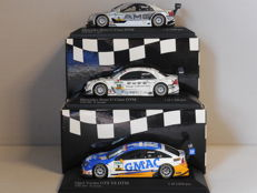 Minichamps - Scale 1/43 - Lot with 3 DTM models: 2 x Mercedes-Benz & 1 x Opel