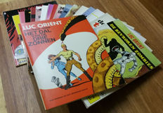 Luc Orient - Complete serie: 18 albums - softcovers - 1e druk - 2x herdruk (1969/1994)