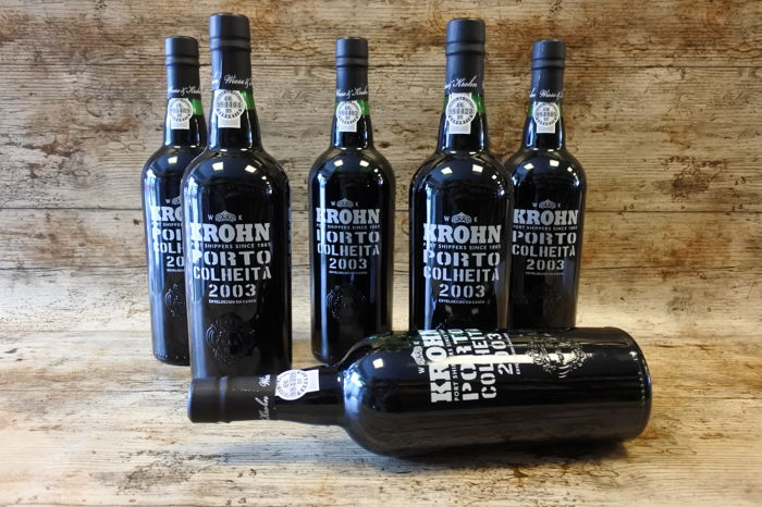 2003 Krohn Colheita Port - 6 Bottles (0.75L)