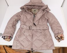 Burberry - winter coat for women, small with removable hood