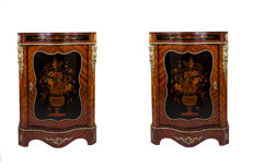 Pair of side cabinets in Napoleon III - France - ca. 1880/1900