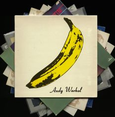 Velvet Underground and solo: lot of seven albums also including Lou Reed, John Cale and Nico