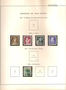 Spain1950/2000 – Advanced collection in album sheets