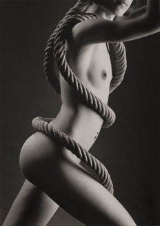 Dominique Tuilard - Nude with rope