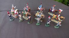 Del Prado - Scale 1/32 - Lot with 20 metal soldiers, recent