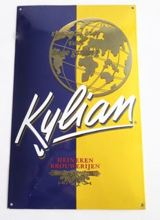 Kylian enamel sign 1990s