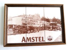Unique stone specimen of the Amstel Brewery from the late 1980s