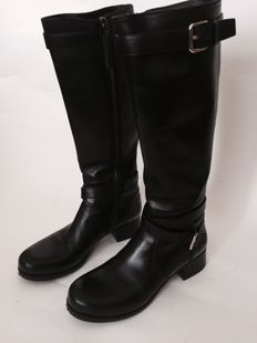 Prada leather – boots manufacturer's size