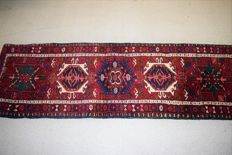 Persian Heriz rug (runner) – 20th century – 1950–1970 – 205 x 66 cm – with certificate of authenticity