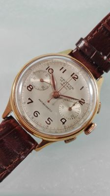 Orator -- Chronograph with 17 rubies -- Men's -- 1950–1959