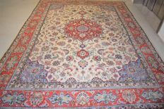 Vintage Persian rug, Tabriz/Iran – 1st half 20th century – 380 x 265 cm – with certificate of authenticity