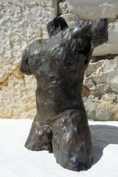 "Sculpture; Serge Himber - ""Le Male"" - early 21st century"