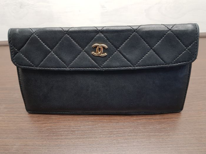 Chanel – Vintage clutch/pouch – **No Reserve Price**