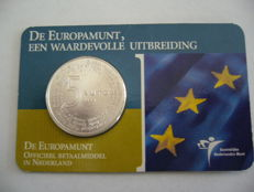"The Netherlands - 5 Euros 2004 ""Europamunt"" - Silver in coincard"