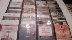 Beautiful Lotto of 40 Classical and Lyric Music CDs: chopin, brahms, Beethoven, Mozart, Vivaldi ...