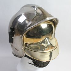 French Fireman's Helmet F1 Gallet model